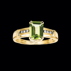 Peridot Rings Peridot Traditional Design Ring