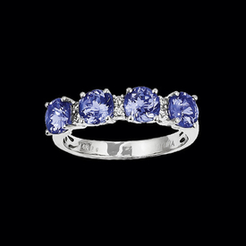Tanzanite Band Style Ring