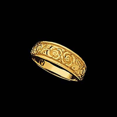 Fancy Gold Band