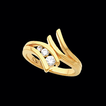 Pass Design Diamond Ring