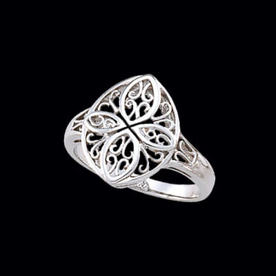Filigree Gold Ring