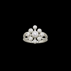Valencia Diamond Right Hand Ring