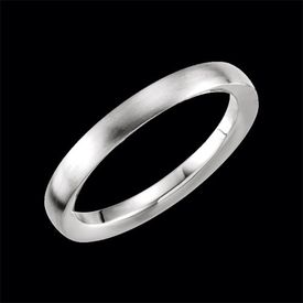 Platinum Diamond Accented Band