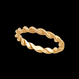 Gold Rings Gold Rope Ring