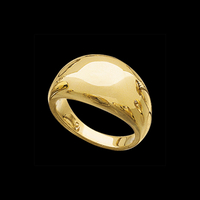 Gold Rings Gold Dome Ring