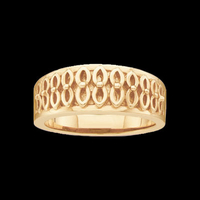 Fancy Gold Fashion Band