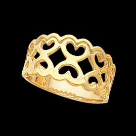 Fancy Gold Ring