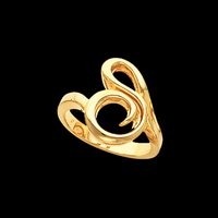 Freeform Gold Ring