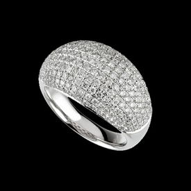 Pave Diamond 1 3/4ct tw Ring