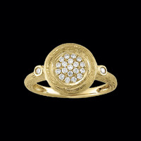 Old World Design Diamond Ring