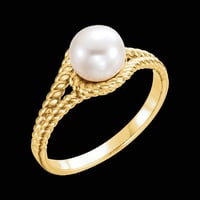 Pearl Rope Ring