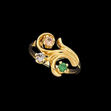 Barbara, Gold Mothers Ring