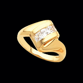 Incredible Princess Diamond Ring