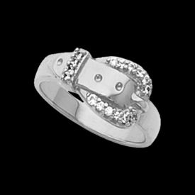 Platinum Rings Platinum Womens Western Diamond Ring
