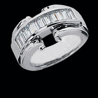 Fancy Baguette Diamond Ring
