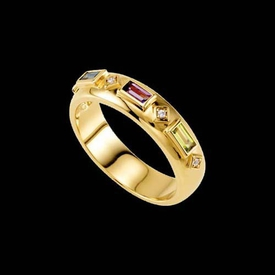 Mother Ring Sophia, Etruscan Style Mothers Ring