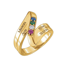 Mother Ring Beautiful Engravable Mothers Ring