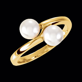 Pearl Pass Design Ring