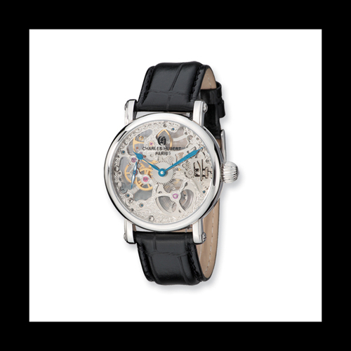 Charles Hubert Mechanical Skeleton Watch
