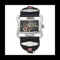 Ed Hardy Victoria Orchid Watch