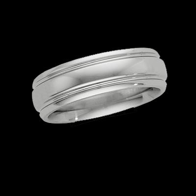 Comfort Fit Platinum Band