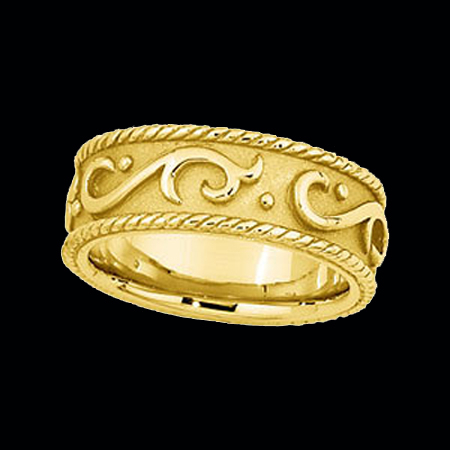 Decorative Wedding Band