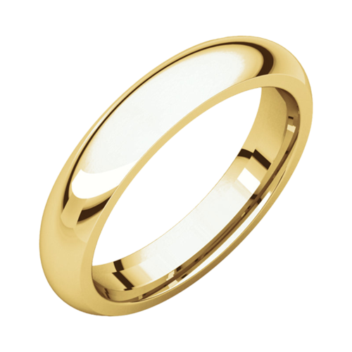 Classic Gold Wedding Band