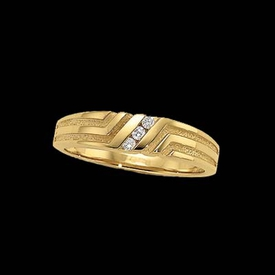 Diamond Gold Band