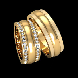 Diamond Wedding Bands Classic Diamond Wedding Band