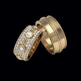 Diamond Wedding Bands Stylish Diamond Wedding Band