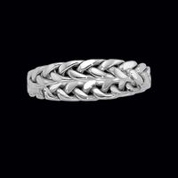 14K Gold Braided Band