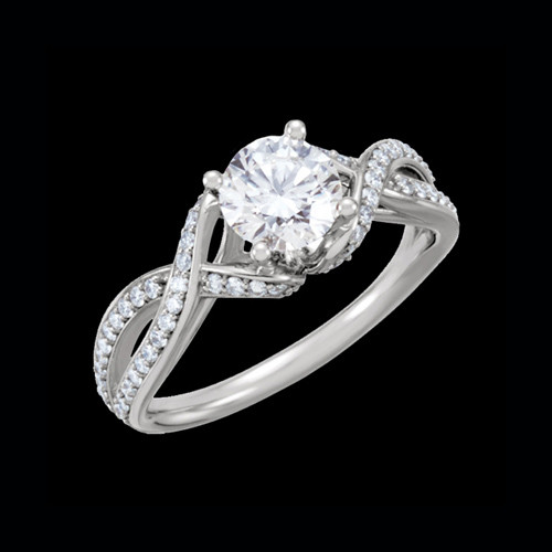 Romantic Diamond Semi Mount