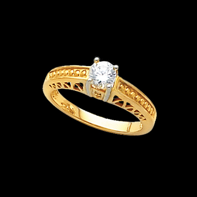 Lovely Diamond Solitaire