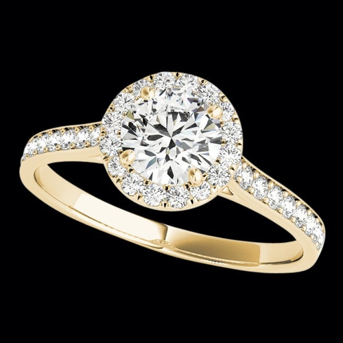 Delightful Diamond Engagement Ring