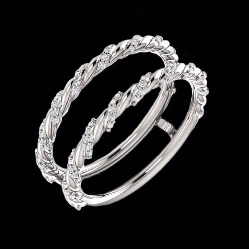 Rope of Diamonds Ring Guard