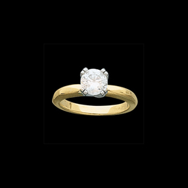 Octet Solitaire Ring
