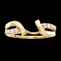 Pass Design Diamond Ring Guard