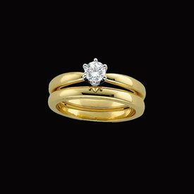 Solitaire Engagement Rings Diamond Solstice Solitaire Ring