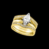 Bridal Diamond Ring Guard