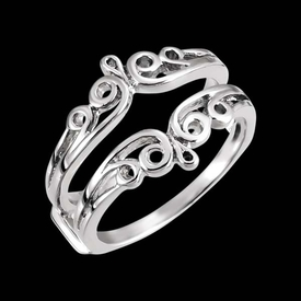 Scroll Design Ring Guard