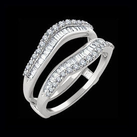 Diamond 3/4 ctw Ring Guard