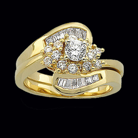Harmonious Diamond Engagement Ring
