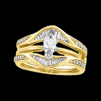Beautiful Diamond Ring Guard