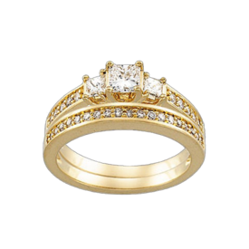 Bridal Engagement Rings Lovely Princess Diamond Engagement Ring