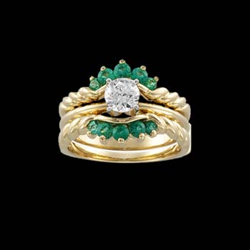 Emerald Ring Guard