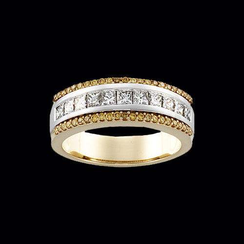 Ruby engagement rings gold